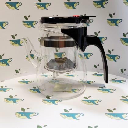 Стеклянный чайник типод для гун фу ча
