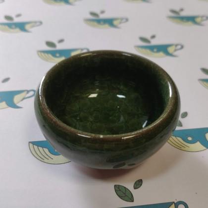 Пиала для чая зеленая