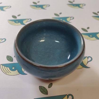 Пиала для чая голубая
