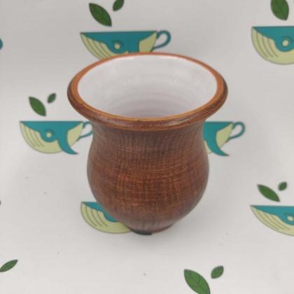 Глиняный калабас глазурованный