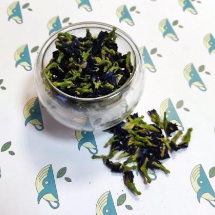 Мотыльковый Горошек (клитория тройчатая, синий чай)