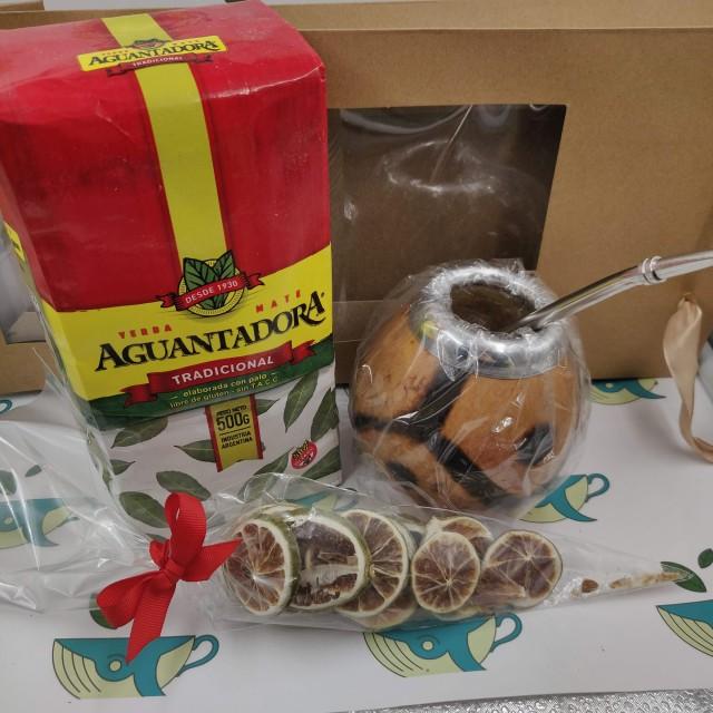 Набор Aguantadora (с тыквенным калабасом и лаймом)