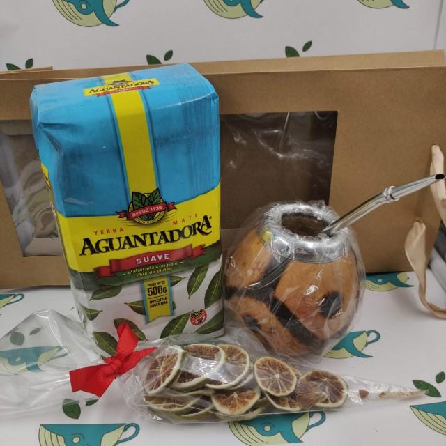 Набор Aguantadora Suave (с тыквенным калабасом и лаймом)