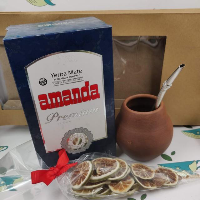 Набор Amanda Premium (с глиняным калабасом и лаймом)