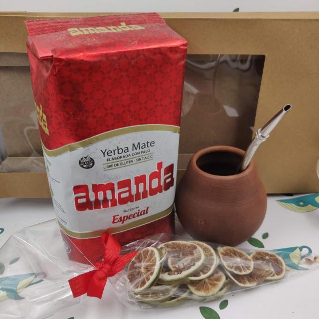 Набор Amanda Especial (с глиняным калабасом и лаймом)