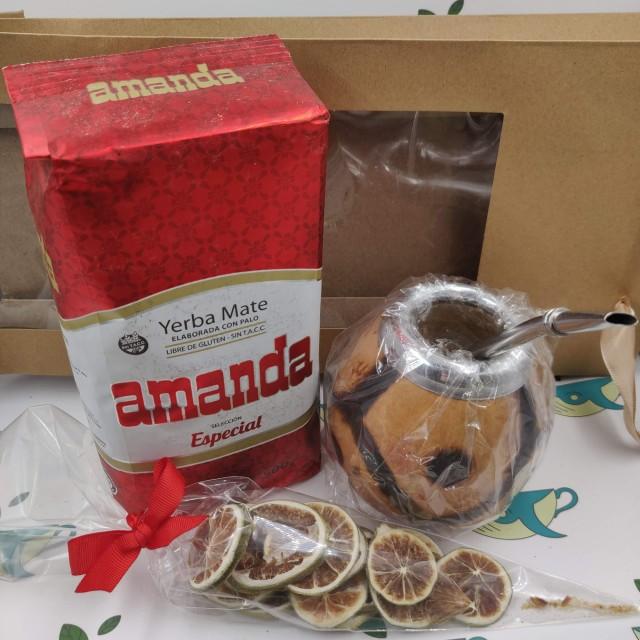 Набор Amanda Especial (с тыквенным калабасом и лаймом)