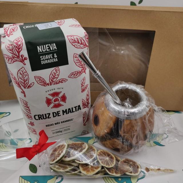 Набор Cruz de Malta (с тыквенным калабасом и лаймом)