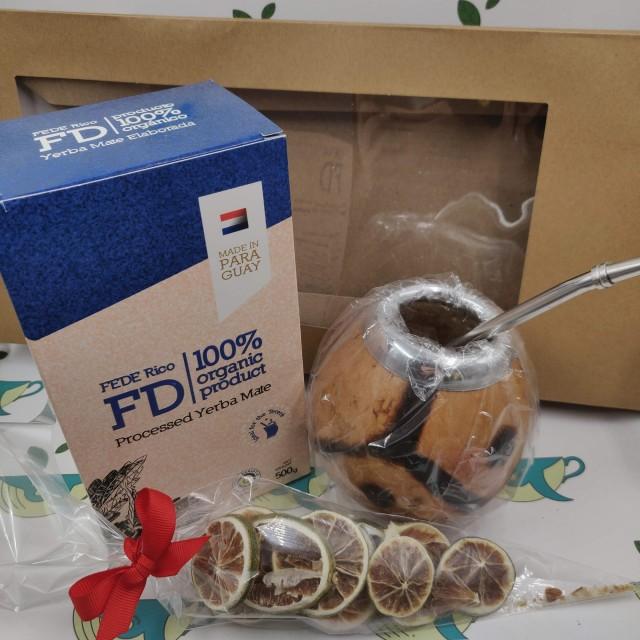 Набор Federico (с тыквенным калабасом и лаймом)