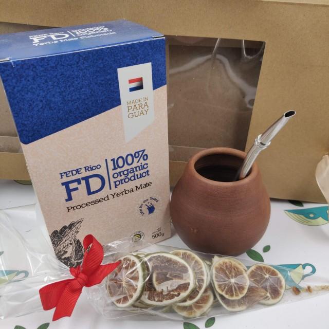 Набор Federico (с глиняным калабасом и лаймом)