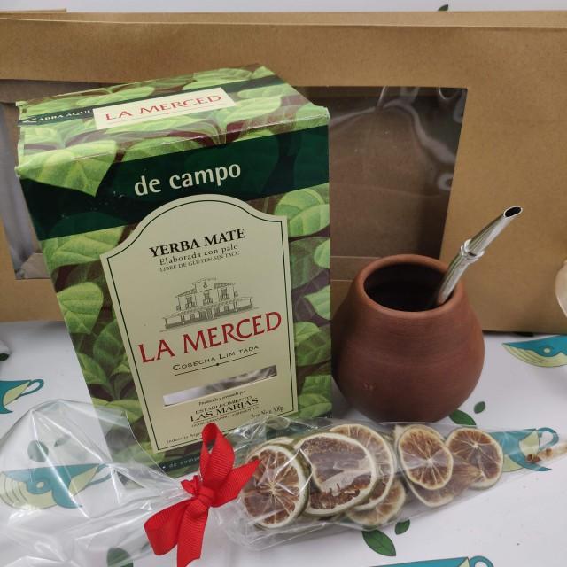 Набор La Merced (с глиняным калабасом и лаймом)