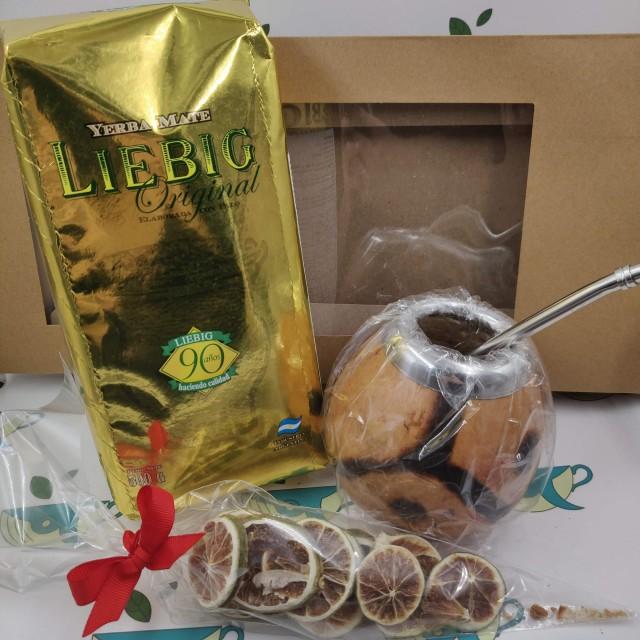 Набор Liebig (с тыквенным калабасом и лаймом)