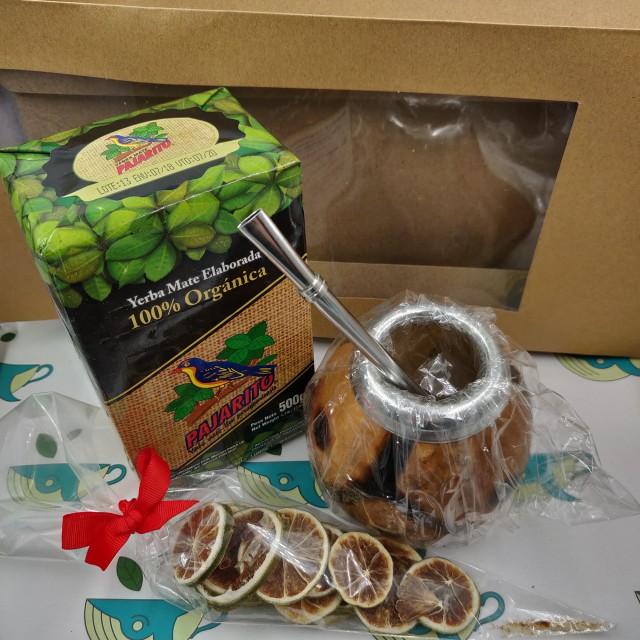 Набор Pajarito Organica (с тыквенным калабасом и лаймом)