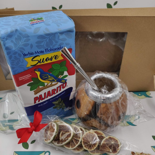 Набор Pajarito Suave (с тыквенным калабасом и лаймом)