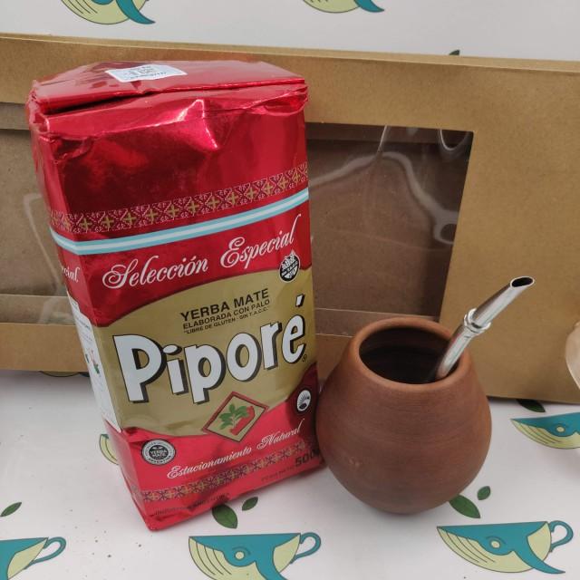 Набор мате Pipore (с глиняным калабасом)