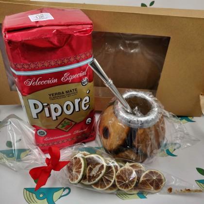 Набор Pipore (с тыквенным калабасом и лаймом)