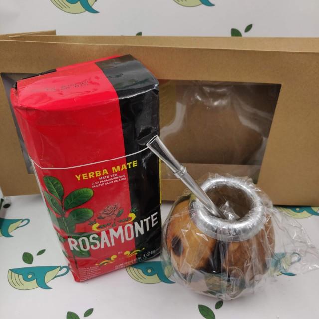 Набор мате Rosamonte (с тыквенным калабасом)
