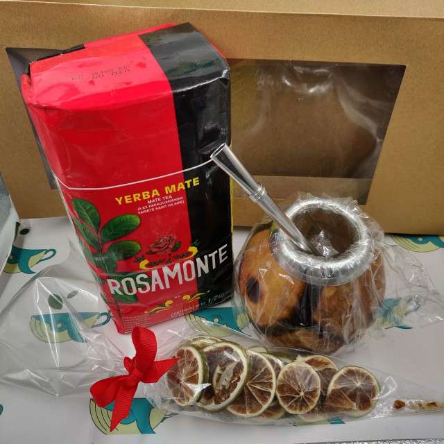 Набор Rosamonte (с тыквенным калабасом и лаймом)