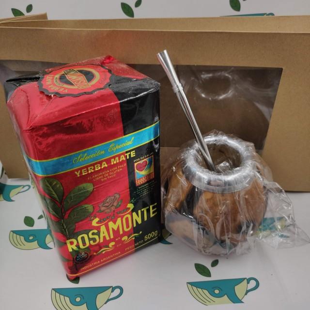 Набор Rosamonte Seleccion  (с тыквенным калабасом)