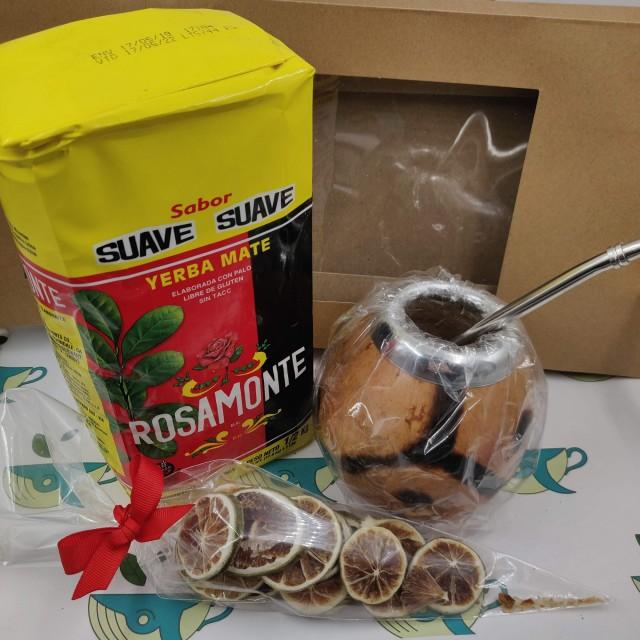 Набор Rosamonte Suave (с тыквенным калабасом и лаймом)