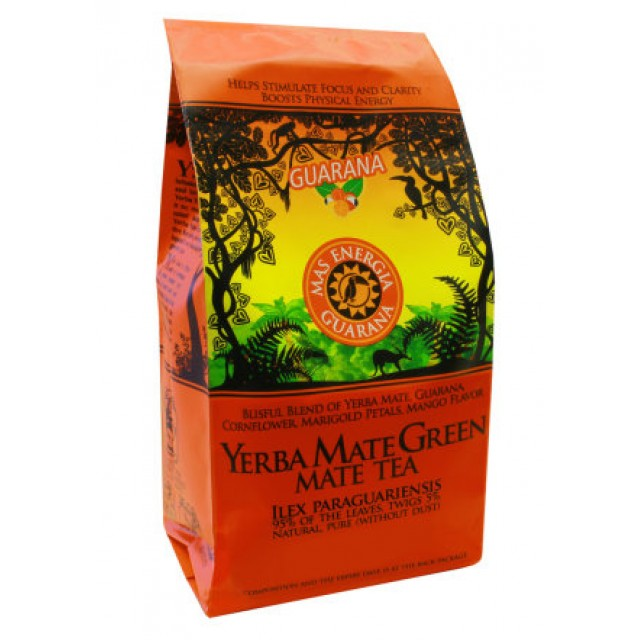 Йерба мате Mate Green Mas Energia Guarana 400 грамм