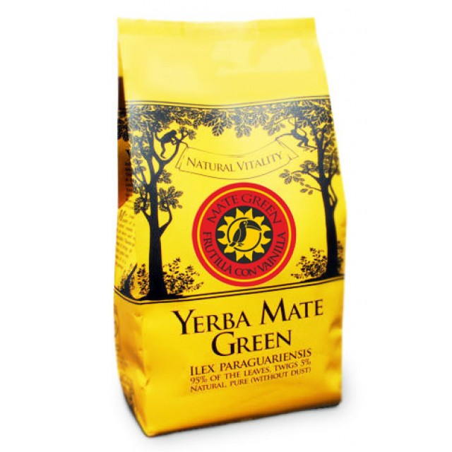 Йерба мате Mate Green Frutilla con Vanilla 400 грамм