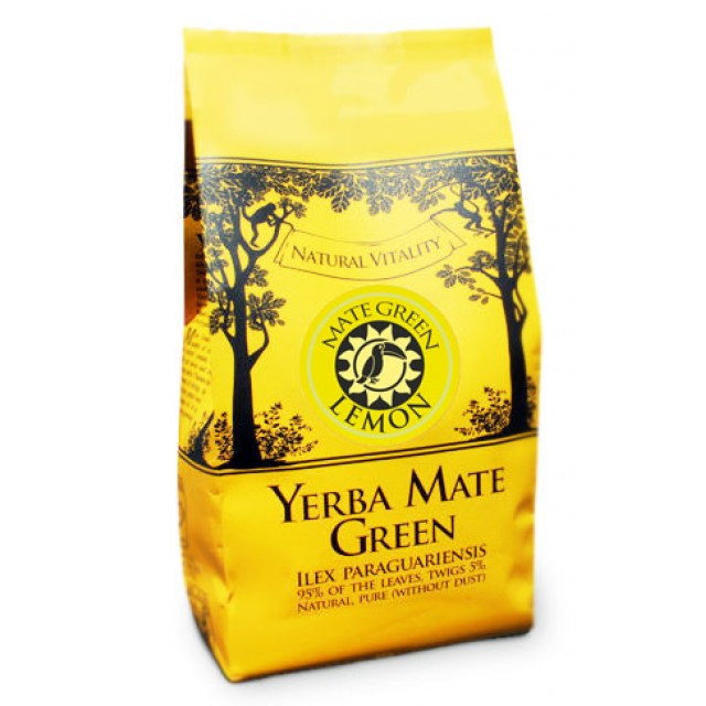 Йерба мате Mate Green Lemon 400 грамм