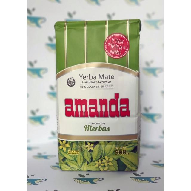 Йерба мате Amanda con Hierbas 500 грамм