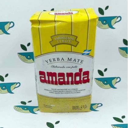 Йерба мате Amanda с лимоном 500 грамм