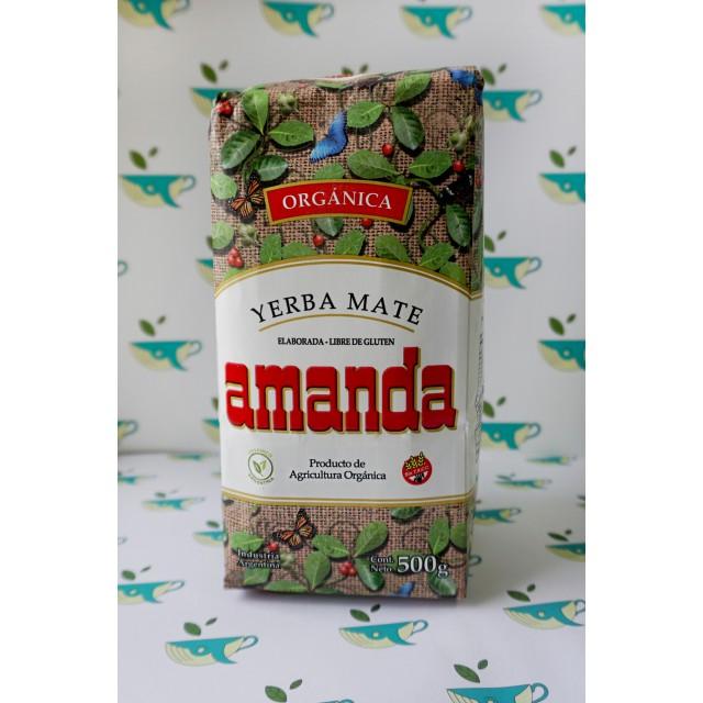 Йерба мате Amanda Organica 500 грамм