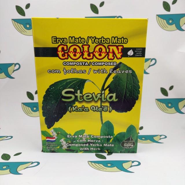 Йерба мате Colon Stevia 500 грамм
