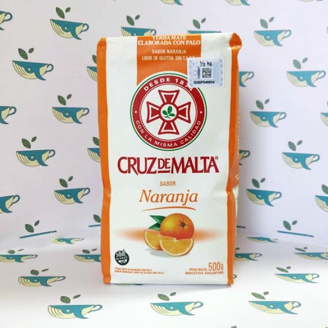 Йерба мате Cruz de Malta Naranja 500 грамм