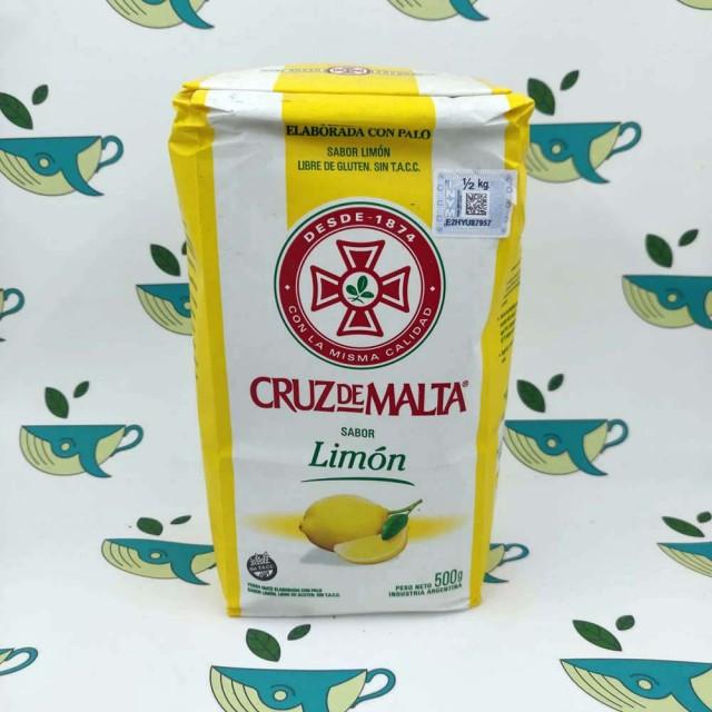 Йерба мате Cruz de Malta Limon 500 грамм