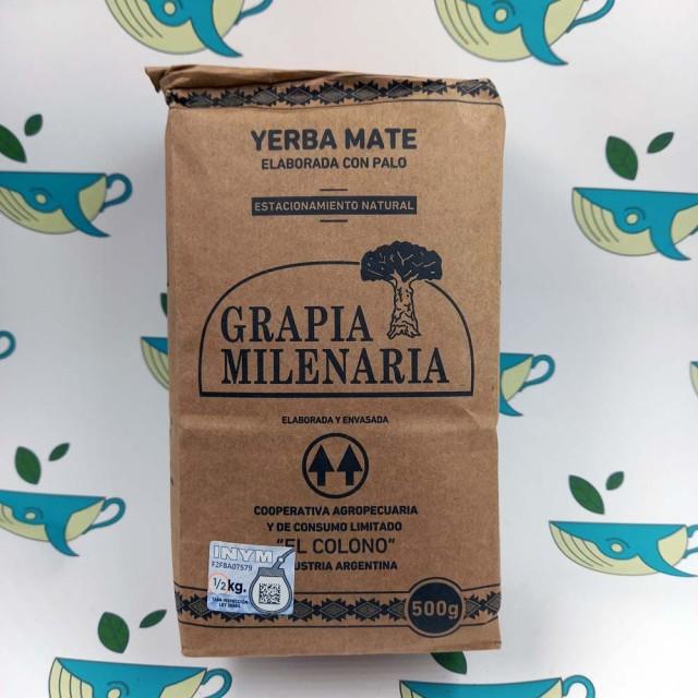 Йерба мате Grapia Milenaria, 500 грамм