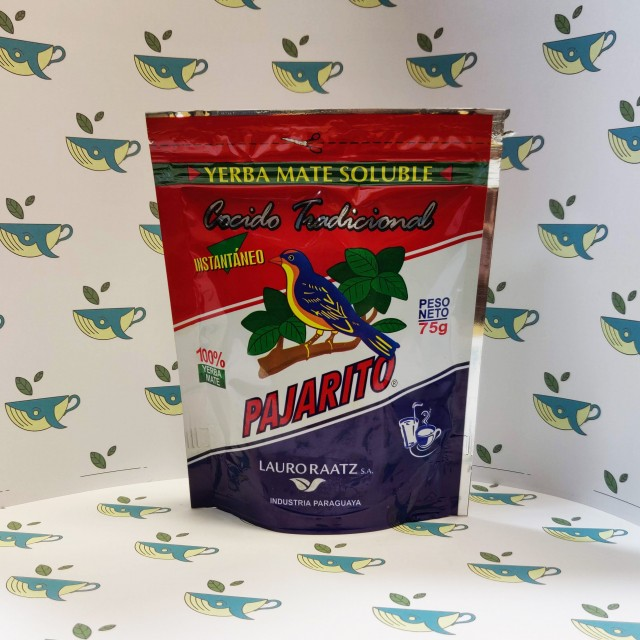 Мате Pajarito растворимый 75 грамм