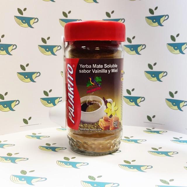 Растворимый Pajarito со вкусом ванили и меда 75 грамм