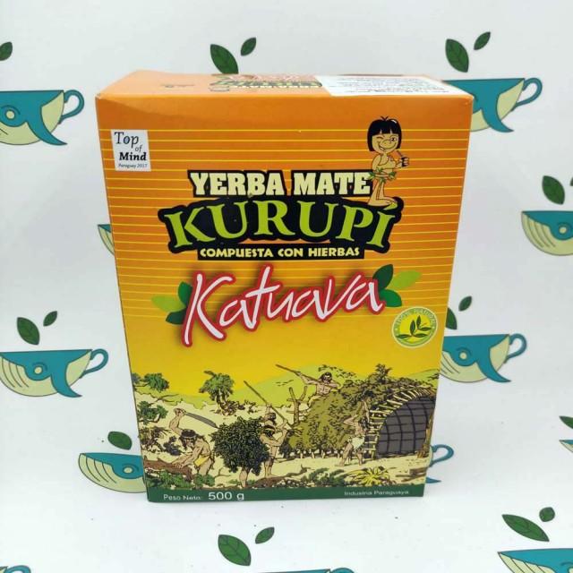Йерба мате Kurupi Katuava 500 грамм