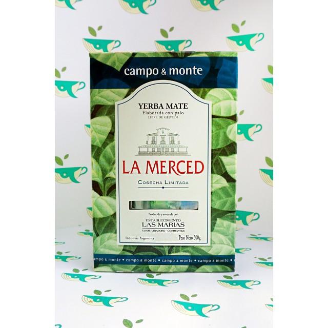 Йерба мате La Merced campo&monte 500 грамм