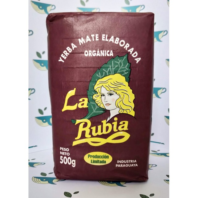 Йерба мате La Rubia Organica 500 грамм