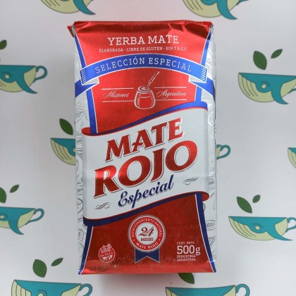 Йерба мате Mate Rojo Espacial, 500 грамм