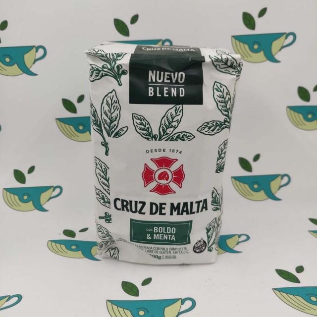 Йерба мате Cruz de Malta Boldo y Menta, 500 грамм