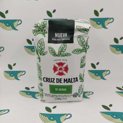 Йерба мате Cruz de Malta Te verde 500 грамм
