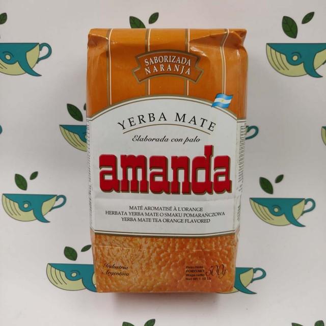 Йерба мате Amanda с апельсином 500 грамм
