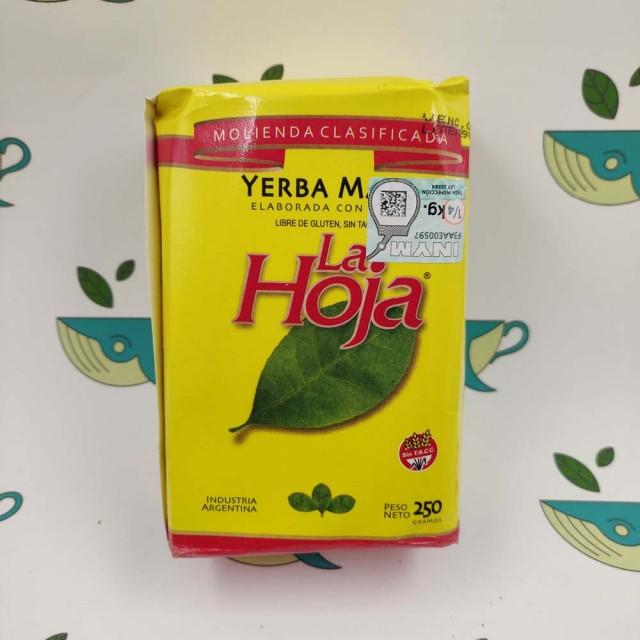 Йерба мате La Hoja классика 250 грамм