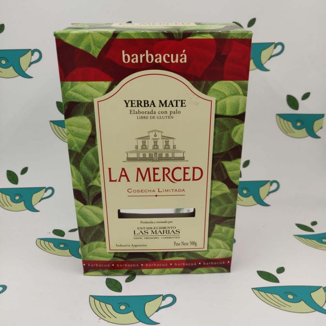 Йерба мате La Merced barbacua 500 грамм