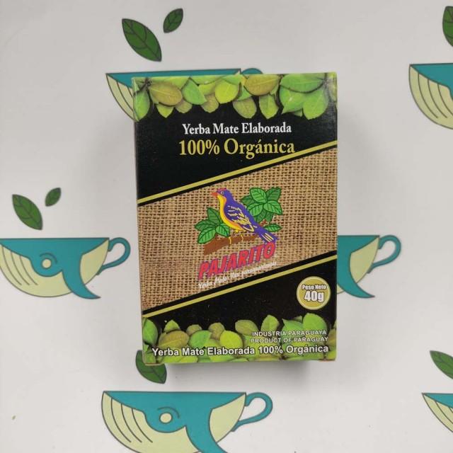 Йерба мате Pajarito Organica 40 грамм
