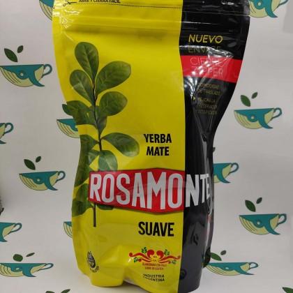 Йерба мате Rosamonte Suave в закрывающейся упаковке, 1000 грамм