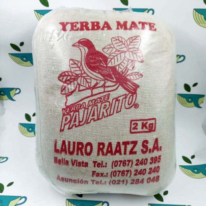 Йерба мате Pajarito классика 2 кг в мешке