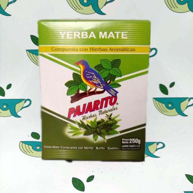 Йерба мате Pajarito ароматные травы 250 грамм