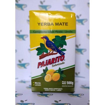 Йерба мате Pajarito с мятой и лимоном 500 грамм
