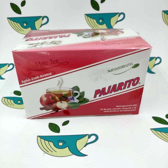 Йерба мате в пакетиках Pajarito яблоко и корица